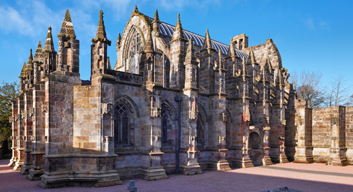 The Enigma of Rosslyn Chapel: The Star-Gate & Sun Disc