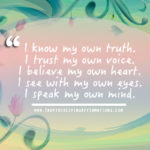 trust my own truth